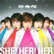 she! her! her! (single) - kis-my-ft2