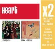 x2 (little queen/dog & butterfly) - heart