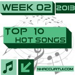 top 10 hot songs (week 02/2013) - v.a