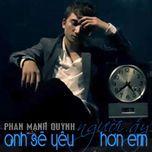anh se yeu nguoi ay hon em (single 2013) - phan manh quynh