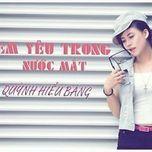 em yeu trong nuoc mat (single 2013) - quynh hieu bang