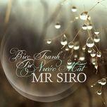 buc tranh tu nuoc mat (single 2013) - mr.siro