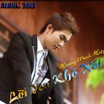 loi yeu kho noi (2013) - hoang minh hiep