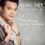 hoi am ngay dong (single 2012) - khac viet