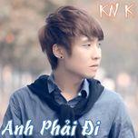 anh phai di (mini album 2013) - knk