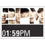 1:59pm (first album) - 2pm