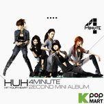 2nd mini album: hit your heart - 4minute
