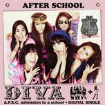 diva (digital single) - after school