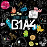 what's going on (4th mini album) - b1a4