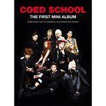 too late (first mini album) - co-ed school