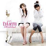 davichi in wonderland (mini album) - davichi