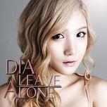 leave alone (single) - dia