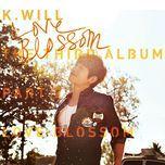 the 3rd album part.2 – love blossom - k.will