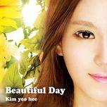 beautiful day (single) - kim yeo hee