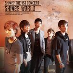 the 1st asia tour concert - shinee