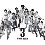 sorry, sorry (vol. 3) - super junior