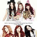 girls' generation live remastering album - taetiseo special - taetiseo