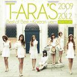 t-ara's best of best 2009-2012 (korean version) - t-ara