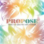 propose - v.a