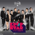sbs k-pop star top 8 - v.a