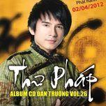 thu phap (vol. 26) - dan truong