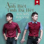 anh biet... tinh da het (single) - hai nam, ton that son