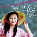 que minh (vol. 3) - hong hanh (dan ca)