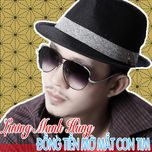 dong tien mo mat con tim (single) - luong manh hung