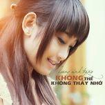 khong the khong thay nho (single) - luong minh trang