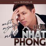 mot nguoi nho (single) - nhat phong