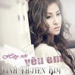 hay noi yeu em (single) - vinh thuyen kim