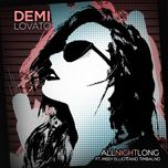 all night long (single) - demi lovato, missy elliott, timbaland