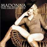 greatest hits - madonna