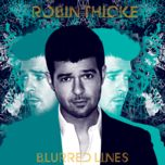 blurred lines (deluxe version) - robin thicke