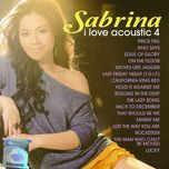 i love acoustic 4 - sabrina