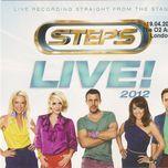o2 arena live in london - steps