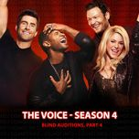 blind auditions, part 4 (the voice us season 4) - v.a