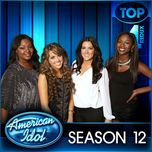 american idol: top 4 (redux) season 12 - v.a