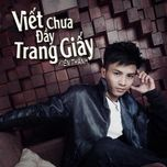 viet chua day trang giay (single) - kien thanh