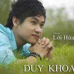 loi hua (vol.1 - 2013) - duy khoa