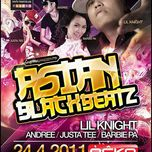 liveshow asian black beatz (2011) - lil knight, justatee, andree