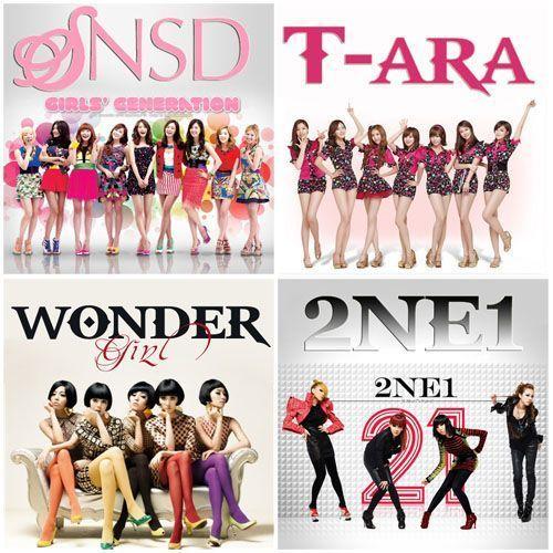 Nhóm Nhạc nữ đình đám của Hàn Quốc