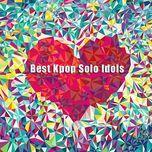 best kpop solo idols (2012) - v.a