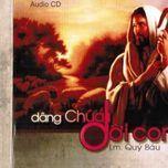 dang chua doi con (lm. quy bau) - v.a