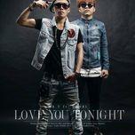 love you tonight (single) - yanbi, mr.t