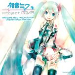 hatsune miku: project diva original song collection - hatsune miku