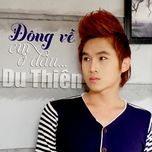 dong ve em o dau (single) - du thien