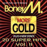 more gold (20 super hits vol. ii) - boney m.