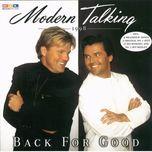 back for good (cd2) - modern talking