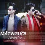 mat nguoi anh yeu (single 2013) - khanh won, lil shady